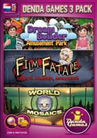 Denda games 3 pack (PC game nieuw)