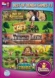 Best of Denda Games 13 - 5 spellen in 1 (PC game nieuw)