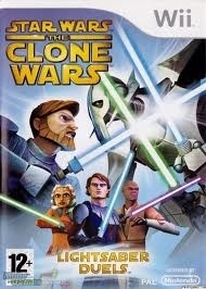 Star Wars clone wars lightsaber duels (wii used game)