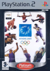 Athens 2004 platinum zonder boekje (ps2 used game)