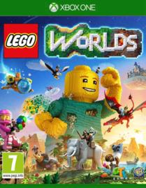 Lego Worlds zonder boekje (xbox one tweedehands game)