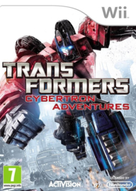Transformers Cybertron Adventures (wii used game)