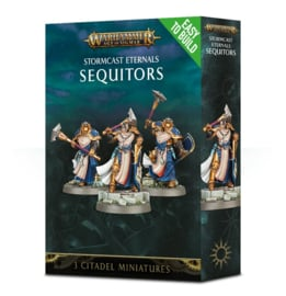 Easy to build Stormcast Eternals Sequitors (Warhammer Age of Sigmar nieuw)