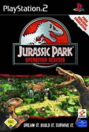 Jurassic Park Operation Genesis (ps2 used game)