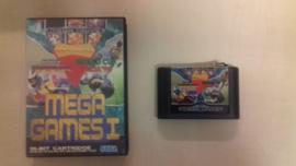 Mega Games I zonder boekje (Sega Mega Drive tweedehands game)
