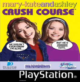 Mary-Kate and Ashley Crush Course (ps1 tweedehands game)