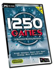1250 Games  a Boredom Busting Bonanza (PC nieuw)