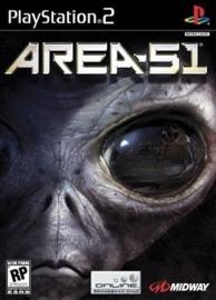 Area 51 zonder boekje (ps2 used game)