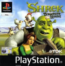 Shrek Treasure Hunt (PS1 tweedehands game)