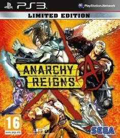 Anarchy Reigns Limited edition (ps3 nieuw)