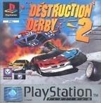 Destruction derby 2 platinum zonder boekje (PS1 tweedehands game)