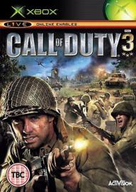 Call of Duty 3 zonder boekje (Xbox tweedehands game)