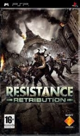 Resistance Retribution (psp used game)
