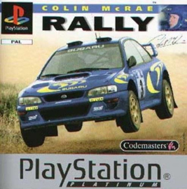 Colin Mc Rae Rally Platinum (PS1 tweedehands game)