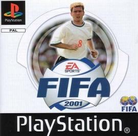 FIFA 2001 zonder boekje (PS1 tweedehands game)