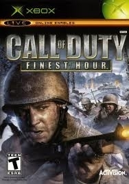Call of Duty Finest Hour zonder boekje (Xbox used game)
