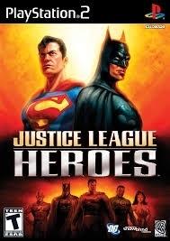 Justice League Heroes zonder boekje (ps2 used game)