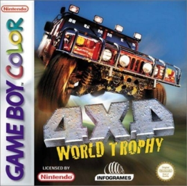 4X4 World Trophy losse cassette (Gameboy Color tweedehands game)