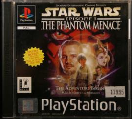 Star Wars Episode 1 The Phantom Menace zonder cover (PS1 tweedehands game)