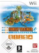Family Trainer gamy only zonder boekje  (Nintendo wii tweedehands game)