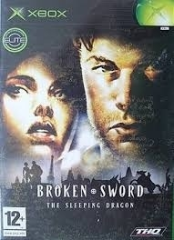 Broken Sword The Sleeping Dragon zonder boekje (xbox used game)