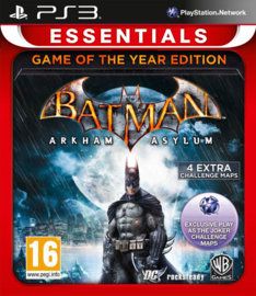 Batman Arkham Asylum Game of the year Essentials zonder boekje (ps3 used game)