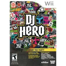 DJ Hero 1 game only (wii used game)
