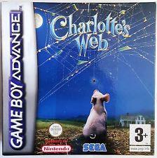 Charlotte's Web  zonder boekje (Gameboy Advance tweedehands game)