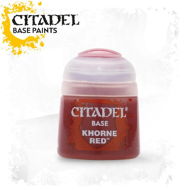 Citadel Base Khorne Red 12 Ml (Warhammer Nieuw)