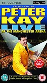 Peter Kay Live at the Machester Arena (psp film tweedehands)