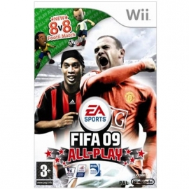 Fifa 09 All-Play (wii used game)