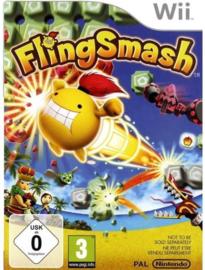 Flingsmash zonder boekje (Nintendo wii tweedehands game)