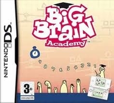 Big Brain Academy beschadigde cover (Nintendo DS used game)