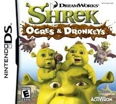 Shrek Ogres and Dronkeys (Nintendo DS Nieuw)