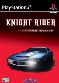 Knight Rider the Game licht beschadigd boekje ps2 used game)