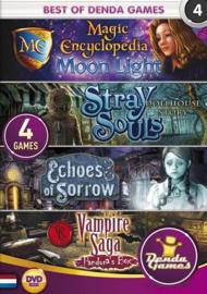Best of Denda Games 4 - 4 Spellen in 1 (PC game nieuw)