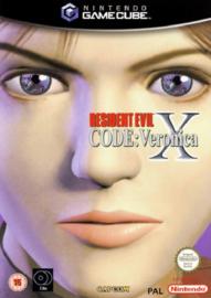 Resident evil Code: Veronica X zonder boekje (Nintendo Gamecube tweedehands game)