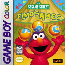 Elmo's ABC's 3 losse cassette (Gameboy Color tweedehands game)