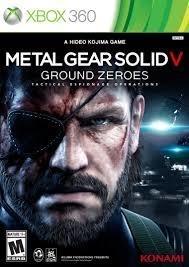 Metal Gear Solid V Ground Zeroes  (xbox 360 nieuw)