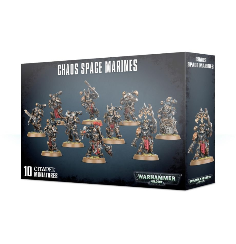 Chaos Space Marines (Warhammer 40.000 nieuw)