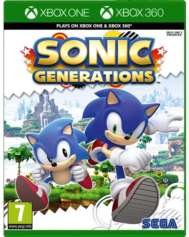 Sonic Generations Xbox One Nieuw Xbox One Games Lamar Games