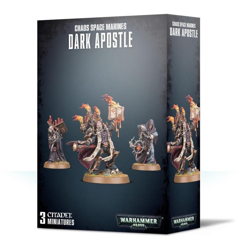 Chaos Space Marines Dark Apostle (Warhammer 40.000 nieuw)