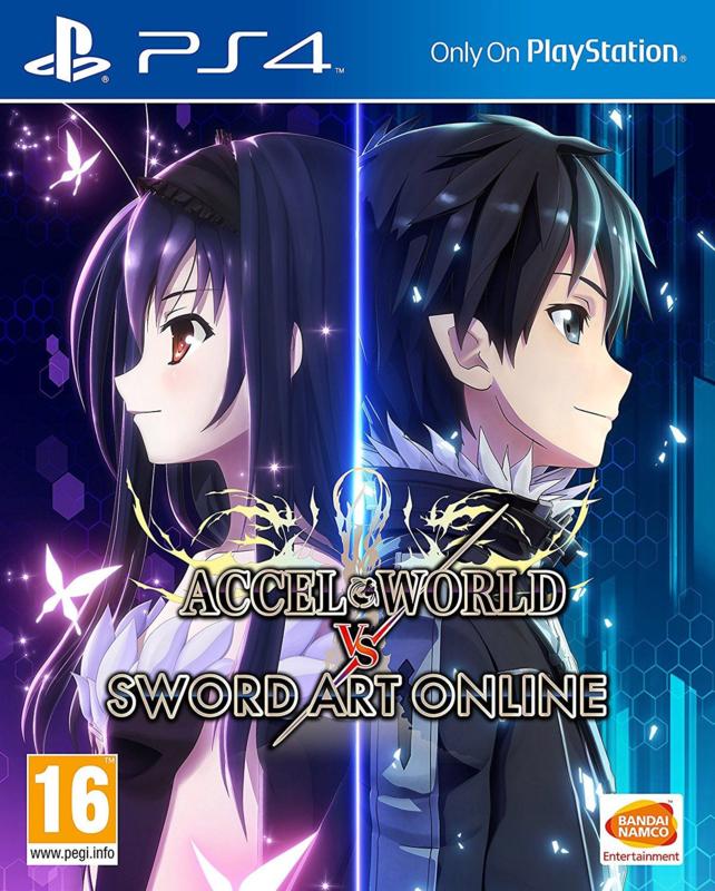 Accel vs Sword Art online (ps4 nieuw)