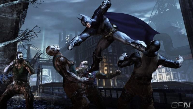 Batman Arkham city (xbox  360 tweedehands game)