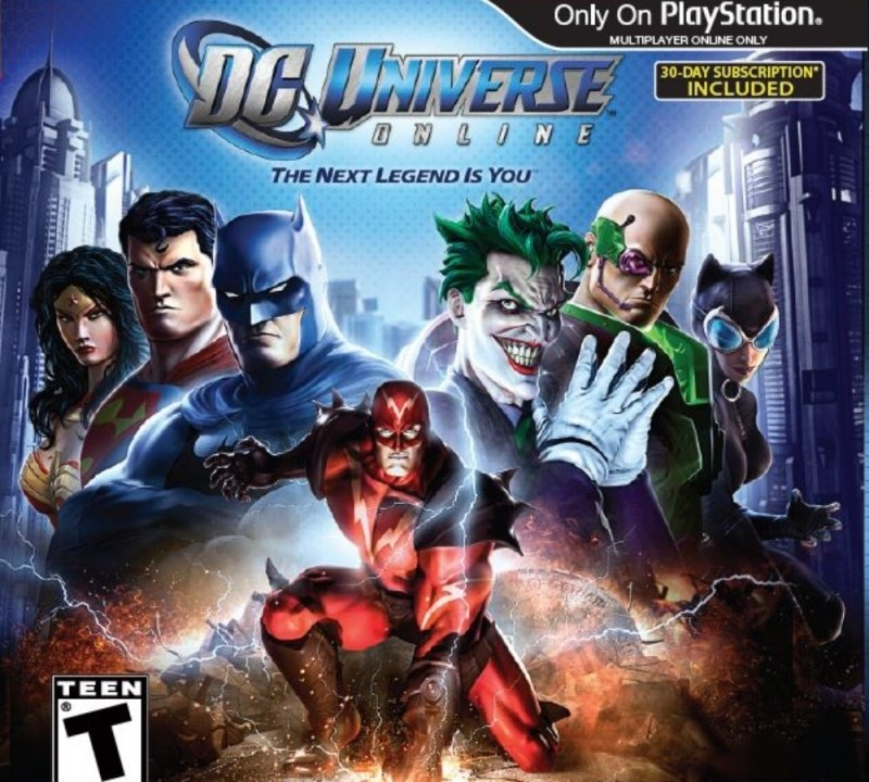 DC Universe Online (ps3 used game)