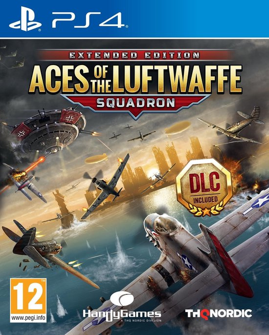 Aces of the Luftwaffe Squadron Extended Edition (ps4 nieuw)