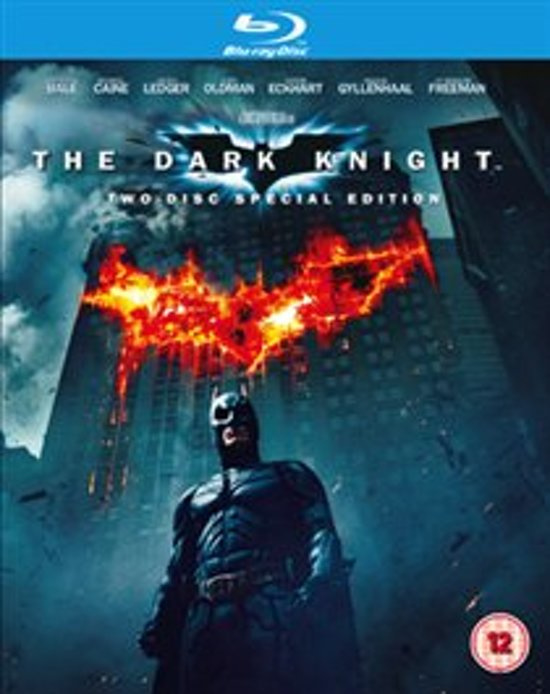 The Dark Knight Two-Disc Special Edition (Blu-ray tweedehands film)