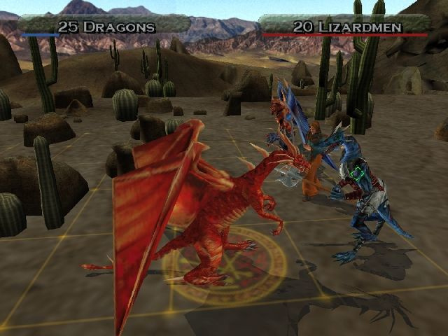 Heroes of might and magic Quest for the Dragon Bone Staff (ps2 tweedehands game)