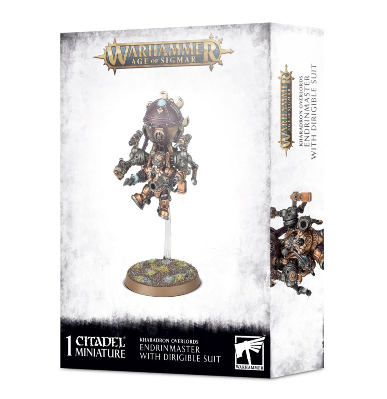 Kharadron Overlords Endrinmaster with Dirigible Suit (Warhammer nieuw)