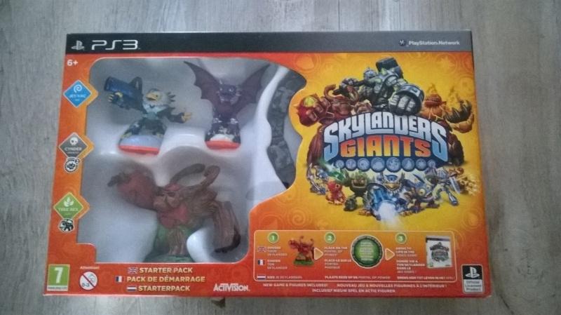 Skylander Giants Starter Pack (PS3 Nieuw)